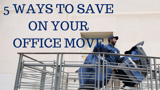 5 Ways to Save on Your Office Move