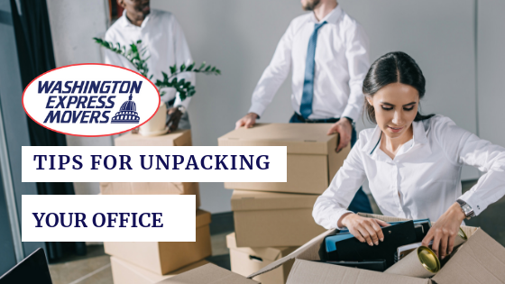 Tips For Unpacking Your Office