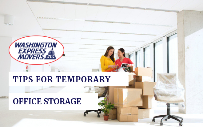 Tips for Temporary Office Storage